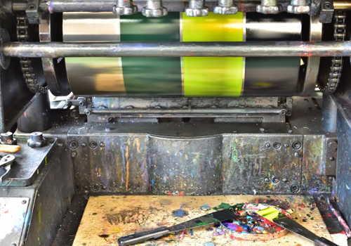中分類15印刷・同関連業の印刷機械