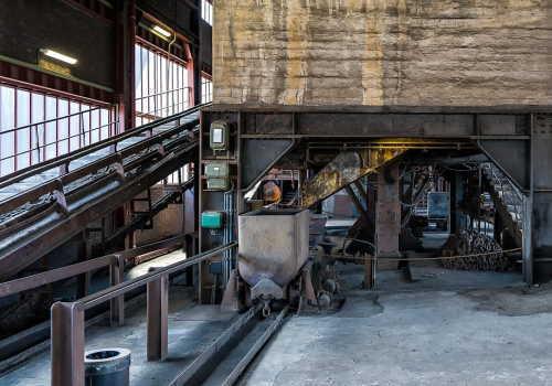 中分類17 石油製品・石炭製品製造業のコーキングプラント