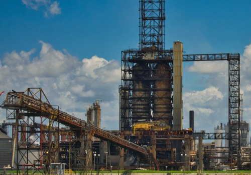 中分類17 石油製品・石炭製品製造業の石油製造工場