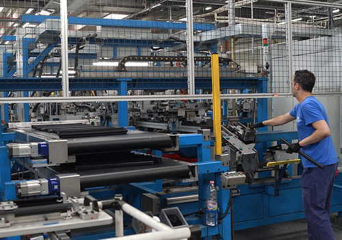 中分類31 輸送用機械器具製造業自動車生産ライン