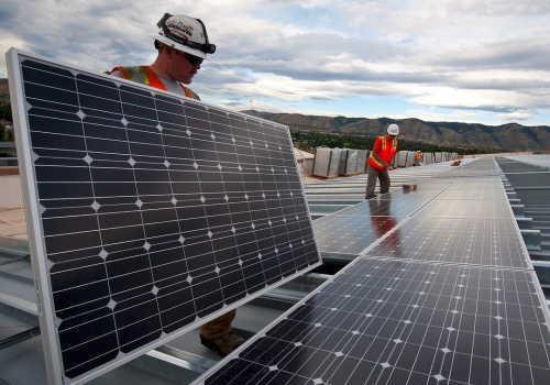 中分類33 電気業太陽光パネル設置作業