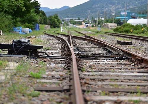 鉄道の分岐機械
