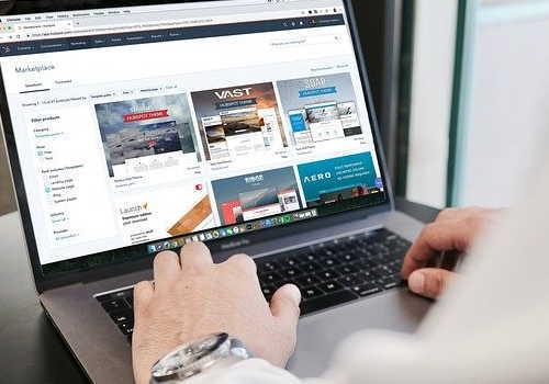 WEBデザイン業イメージ画像