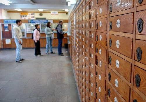 海外の郵便局のイメージ画像