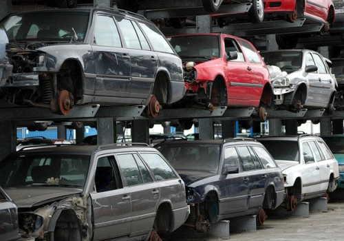 車のボディ廃棄物