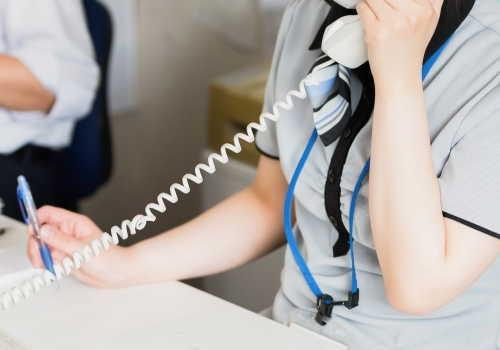 電話オペレータ