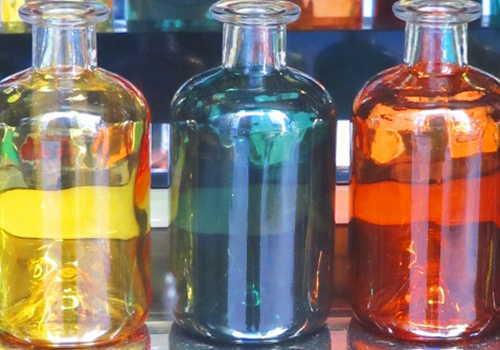 瓶に入った化学薬品