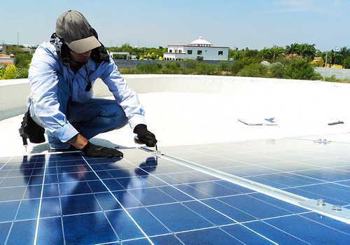 職別工事業(設備工事業を除く) 太陽光パネル設置