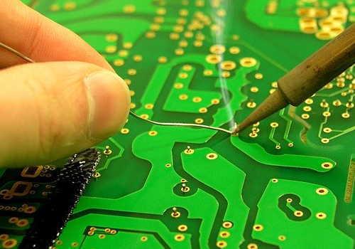 電子基盤はんだ化工