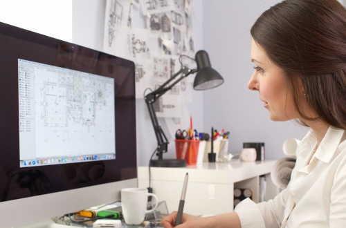 CADオペレーター向けの資格CADシステム試験イメージ画像