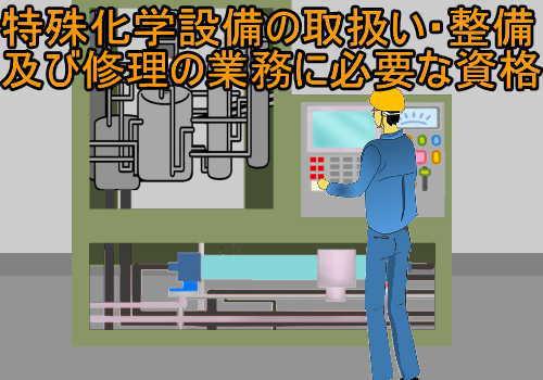 特殊化学設備の取扱い・整備及び修理の業務に係る特別教育の修了に必要な講習