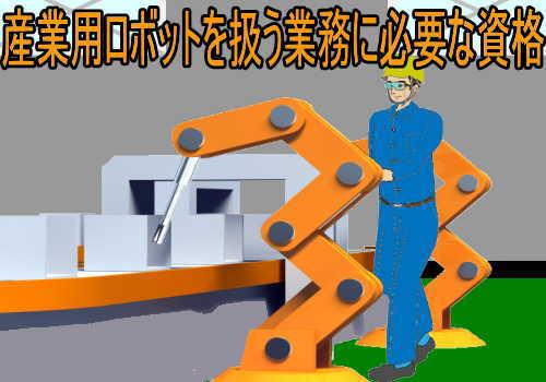 産業用ロボットの教示等と検査等の業務に関わる特別教育の違い
