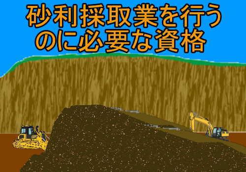 砂利採取業務主任者試験