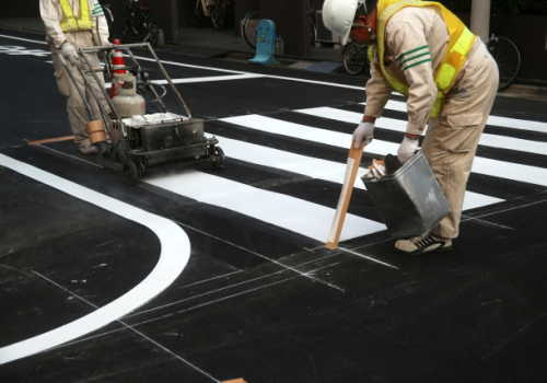 路面標示施工技能士のイメージ画像