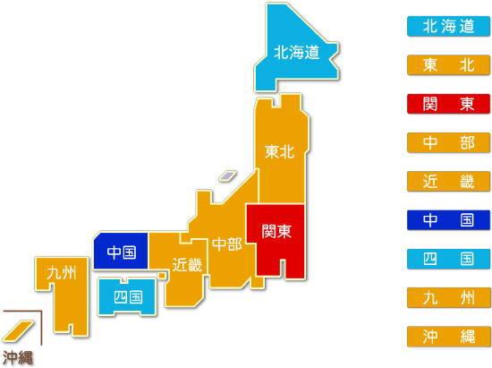 都道府県別 設備工事業求人比較地図2