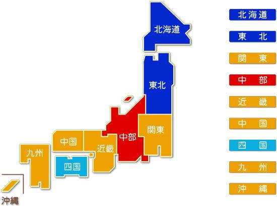 家具・装備品製造業都道府県別求人件数比較