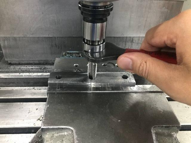 機械加工技能検定 フライス盤作業イメージ