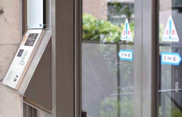 自動ドア施工技能検定イメージ