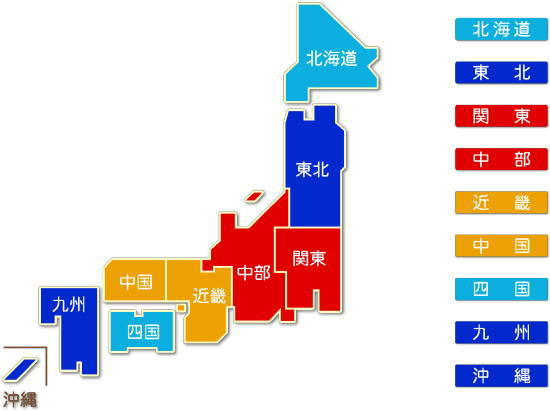 都道府県別 その他の製造業求人件数比較地図
