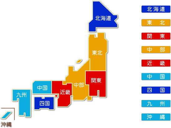 都道府県別 なめし革・毛皮製造業 求人件数比較地図
