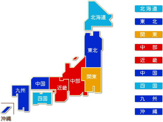 都道府県別 はん用機械器具製造業 求人件数比較地図