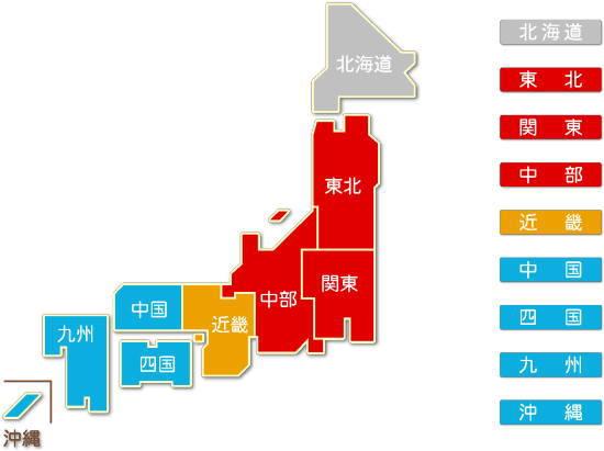 都道府県別 情報通信機械器具製造業求人件数比較地図2
