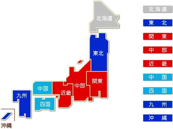 都道府県別 業務用機械器具製造業求人件数比較地図