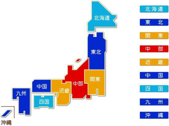 都道府県別 生産用機械器具製造業 求人件数比較地図