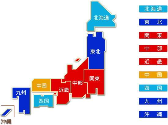 都道府県別 鉄鋼業 求人件数比較地図