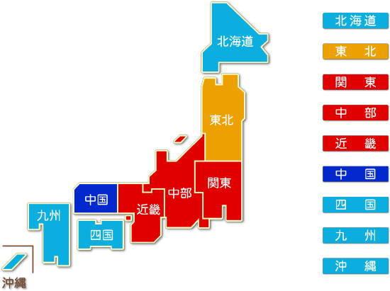 都道府県別 非鉄金属製造業 求人件数比較地図