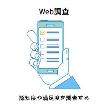 インフォQでWEB調査