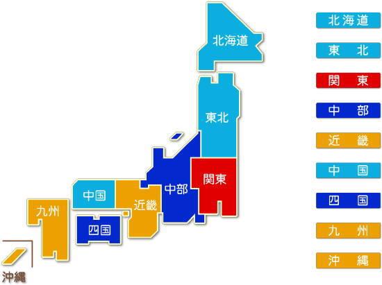 都道府県別 インターネット附随サービス業求人件数比較地図