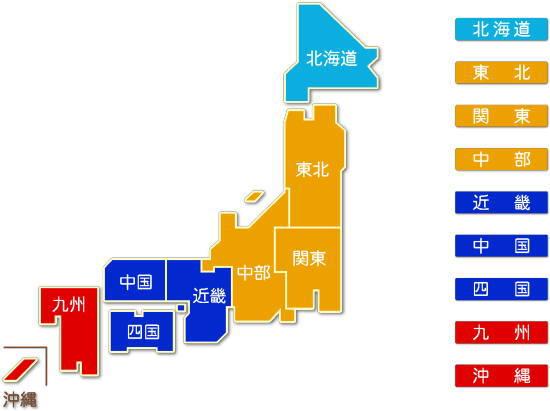 都道府県別 放送業求人件数比較地図