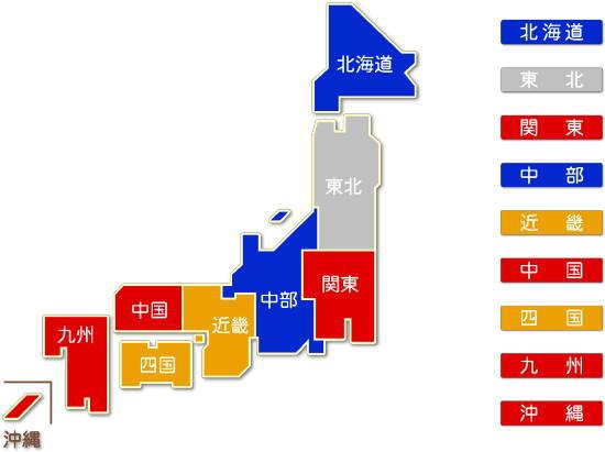 都道府県別 水運業求人件数比較地図