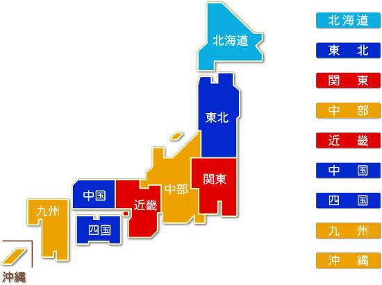 都道府県別 水道業求人件数比較地図