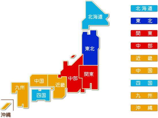都道府県別 道路貨物運送業求人件数比較地図