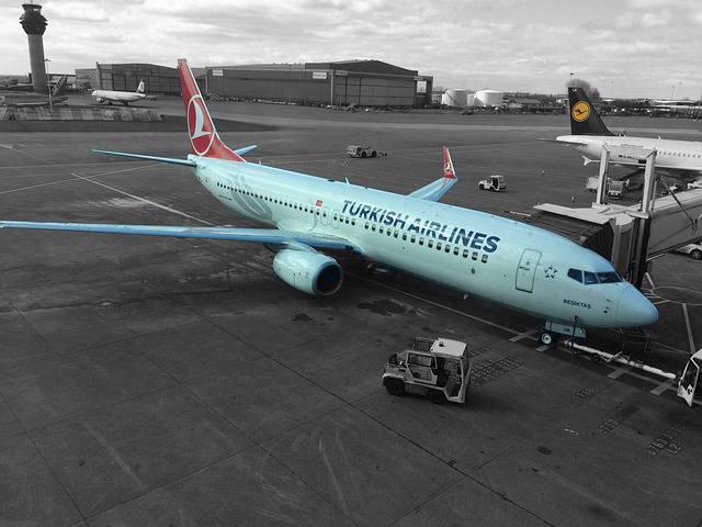 中分類46 航空運輸業イメージ