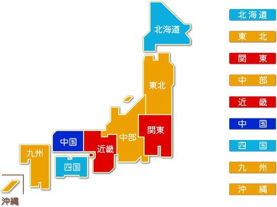 中分類58 飲食料品小売業求人件数比較地図