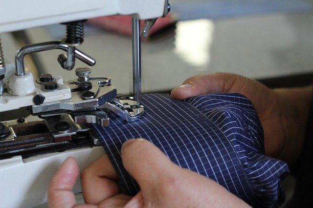 紳士服製造技能検定イメージ