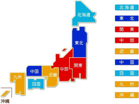 都道府県別 建築材料・鉱物・金属材料等卸売業求人件数比較地図
