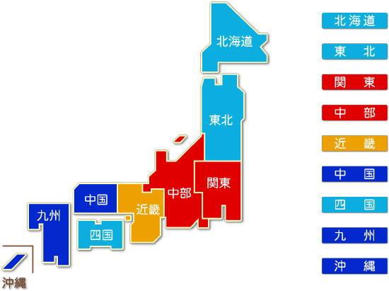 都道府県別 運輸に附帯するサービス業求人件数比較地図