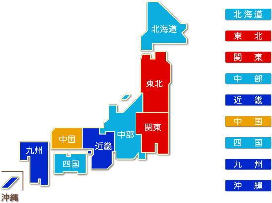 中分類62 銀行業求人件数比較地図
